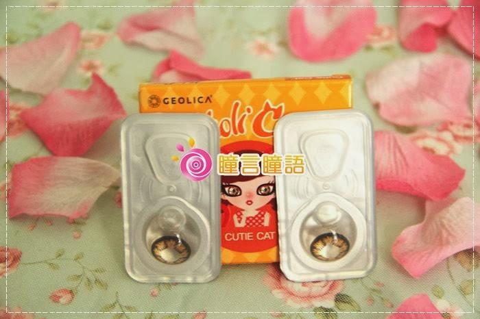 韓國GEO隱形眼鏡-GEO Holicat 荷麗貓迷萌咖(Cuite Cat)2