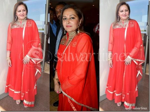 Jaya_Pradha_Red_Salwar_Kameez