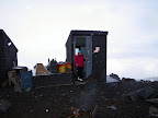 Ah, the outhouse. One of the best parts of Muir.