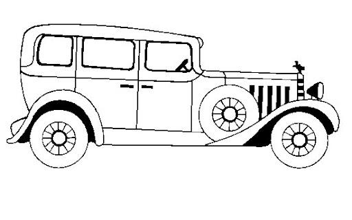 Autos antiguos para colorear niños - Imagui