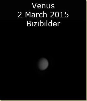 Venus 2 March 2015