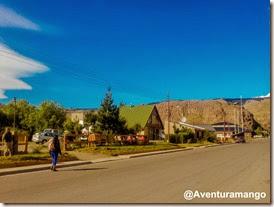 Vista da cidade de El Chaltén, Argentina 2