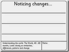 noticing changes lines