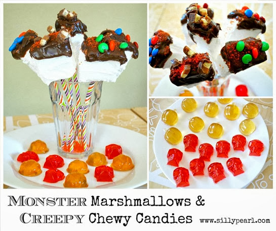 Monster-Sized Marshmallows and Creepy Chewy Candies - The Silly Pearl #shop #SpookyCelebration #cbias