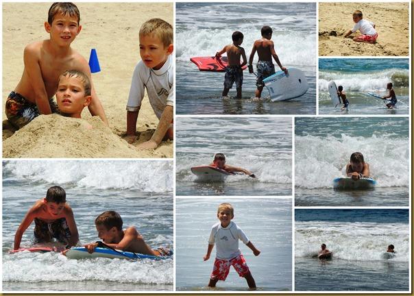 newport beach collage