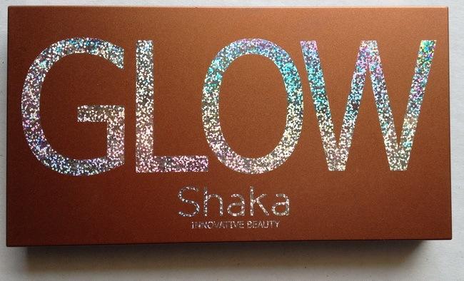 Shaka Glow palettina ombretti