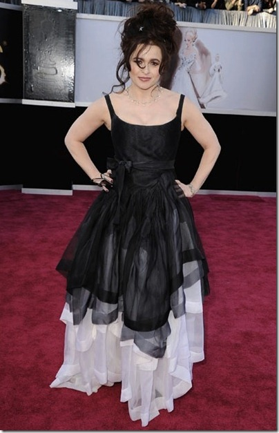 2013 Oscar's Best Beauty Hits... And Some Misses~Helena Bonham Carter