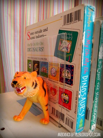 tiger head bookend dollar store