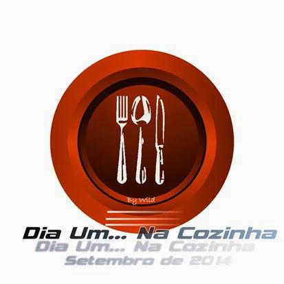 Logotipo Dia Um... Na Cozinha Setembro 2014