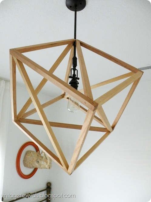 Hanging Cube Light