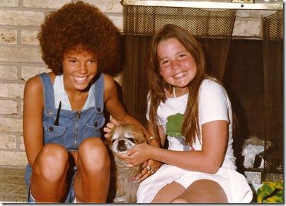 Cathy & Lisa circa 1977