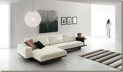 Salas modernas minimalistas decoraci n de interiores de for Que es minimalista en muebles