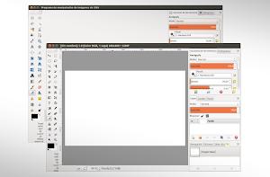 GIMP toolbox like Photoshop