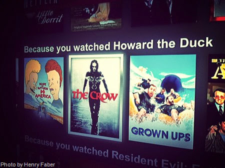 Because you watched Howard the Duck