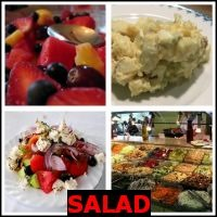 SALAD- Whats The Word Answers
