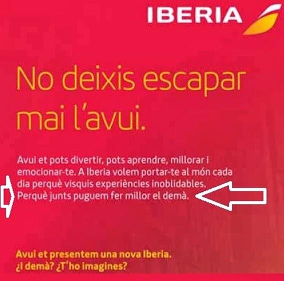 Iberia Obsession espanhòla comentat
