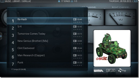 13-XBMC-V12-AeonNox-Music-Album-TrackList-View