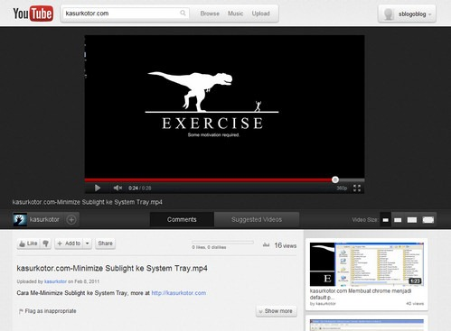Tampilan Baru YouTube