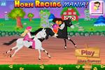 Barbie em corrida de cavalos