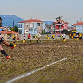goalkeeper by Jo Polyxromos - Sports & Fitness Soccer/Association football ( sports )