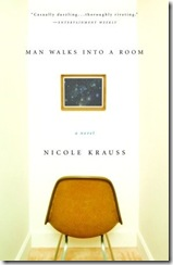 Man Walks into a room; Nicole Krauss