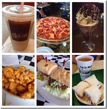 marathon weekend food