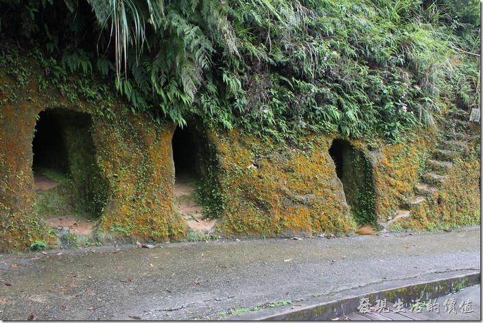 平溪日式防空洞的旁邊還有一段小階梯,喜愛探險者可以看看。