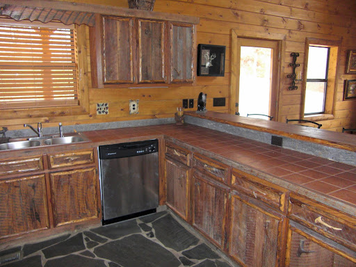 Summer Image Blogs: Custom barn wood cabinet with