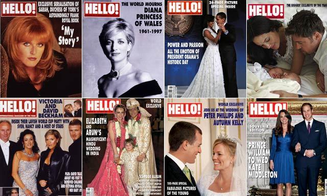 hello magazine royalty