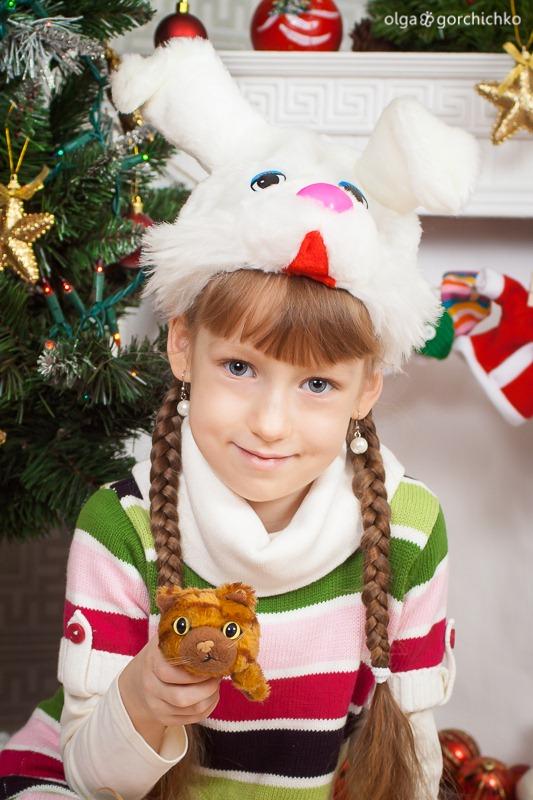 Детский новогодний фотопроект Рождественские мечты. 16. Аня и Саша Муреня-9297