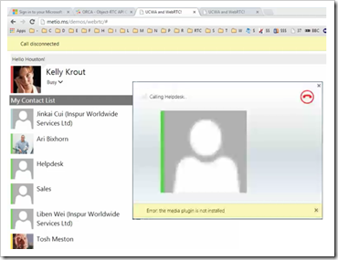 "Microsoft Demonstrates UC Javascript API (aka jLync, UCJA, Name TBD) That Brings All Lync Client Modalities ""In Browser"""