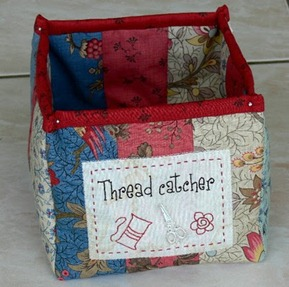 Thread catcher box