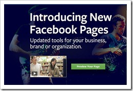 New Facebok Timeline For Pages