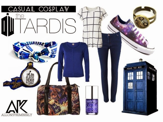 Casual Cosplay: The TARDIS | allonsykimberly.com