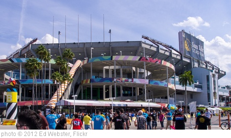 'Sun Life Stadium, Miami, before Wrestlemania 28' photo (c) 2012, Ed Webster - license: http://creativecommons.org/licenses/by/2.0/
