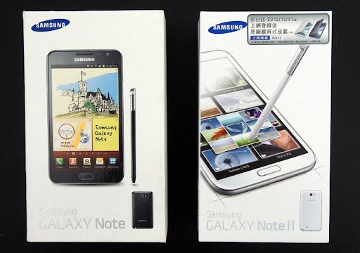 [Unbox] 由外而內!360度全方位比較Samsung GALAXY Note V.S. Note II!