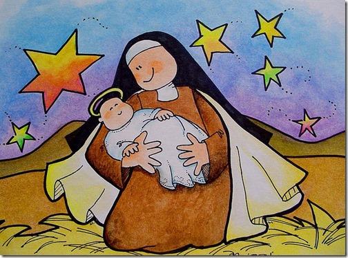 santa teresa dibujos (18)
