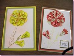 Dahlia cards