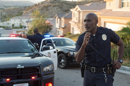 Officer Phillips (Morris Chestnut) in TriStar Pictures thriller THE CALL.