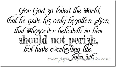 John 3:16 WORDart by Karen for personal use