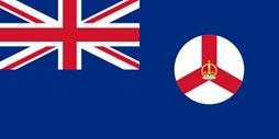 Bendera koloni kerajaan Singapura