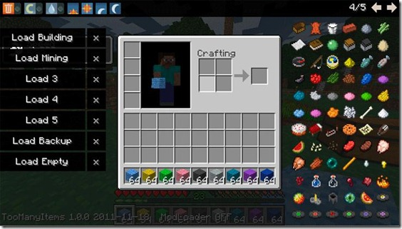 too-many-items-minecraf