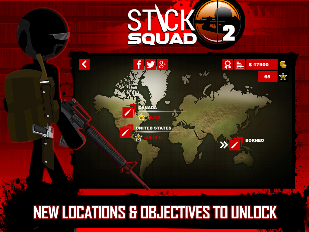 Stick Squad 2 - Shooting Elite Screenshot 10