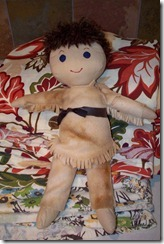 Davy Crockett Doll