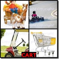 CART- 4 Pics 1 Word Answers 3 Letters
