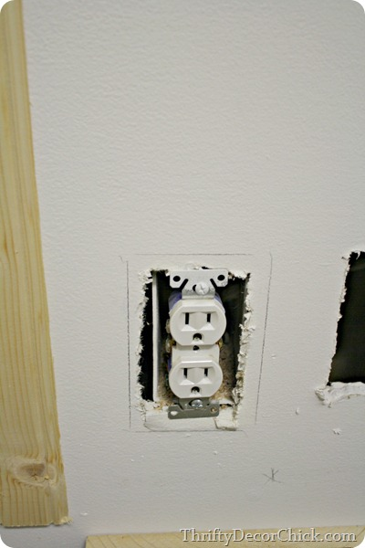 cutting beadboard around outlets