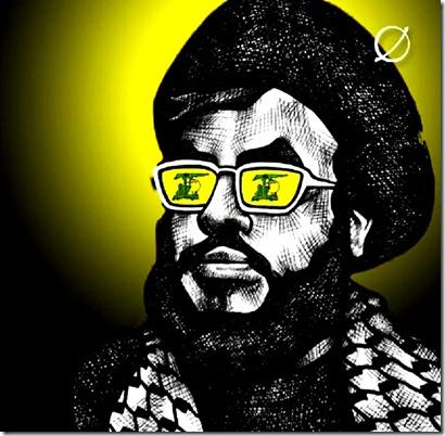Sayyed Hasan Nasrallah caricature