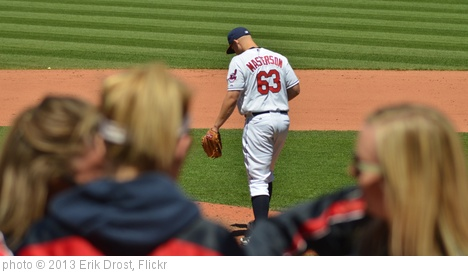 'Justin Masterson in the 9th Inning' photo (c) 2013, Erik Drost - license: http://creativecommons.org/licenses/by/2.0/