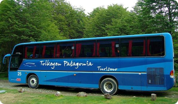 Ônibus da Tolkeyen Patagonia