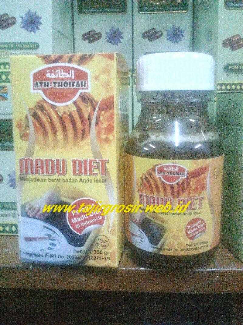 Ath Thoifah Madu Diet Tajir Grosir Penurun Berat Badan 350 Gr Original